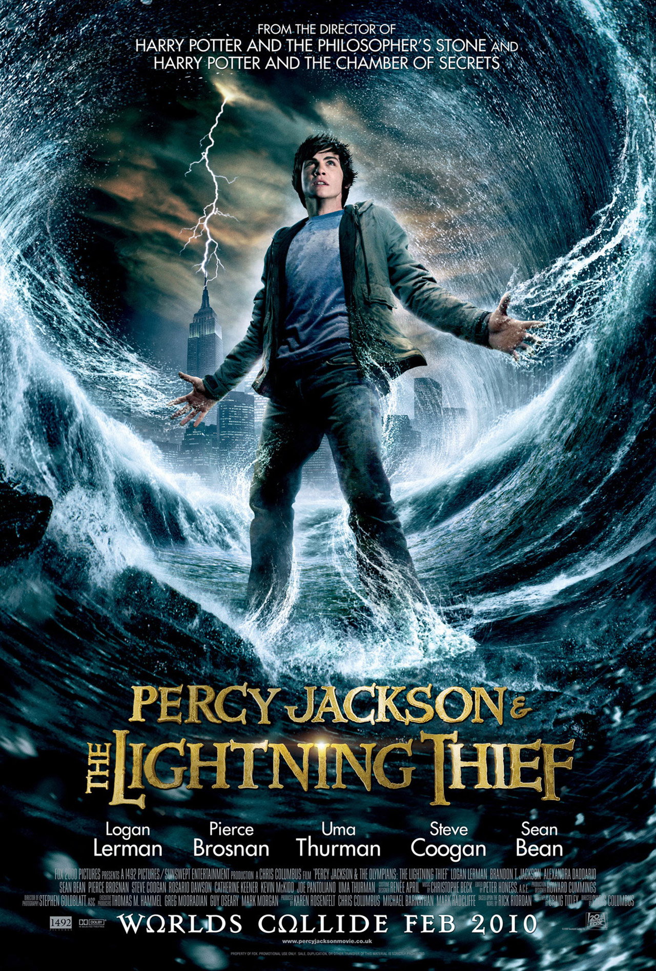 percy jackson and the olympians the lightning thief 2010 news