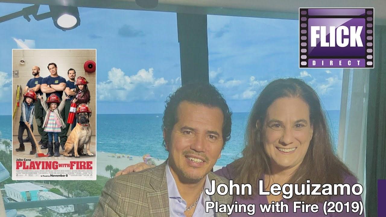 John Leguizamo Talks Children Animals John Cena And Keegan Michael Key Playing With Fire