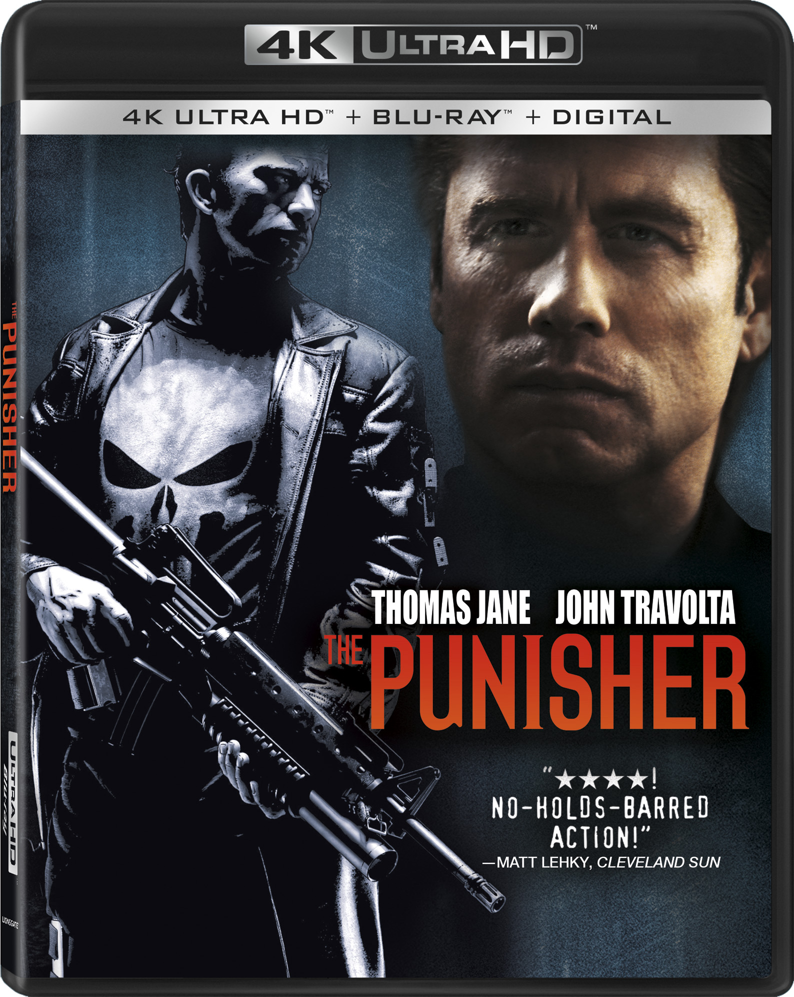 The Punisher 4K Ultra HD Review, The Punisher (2004 ...