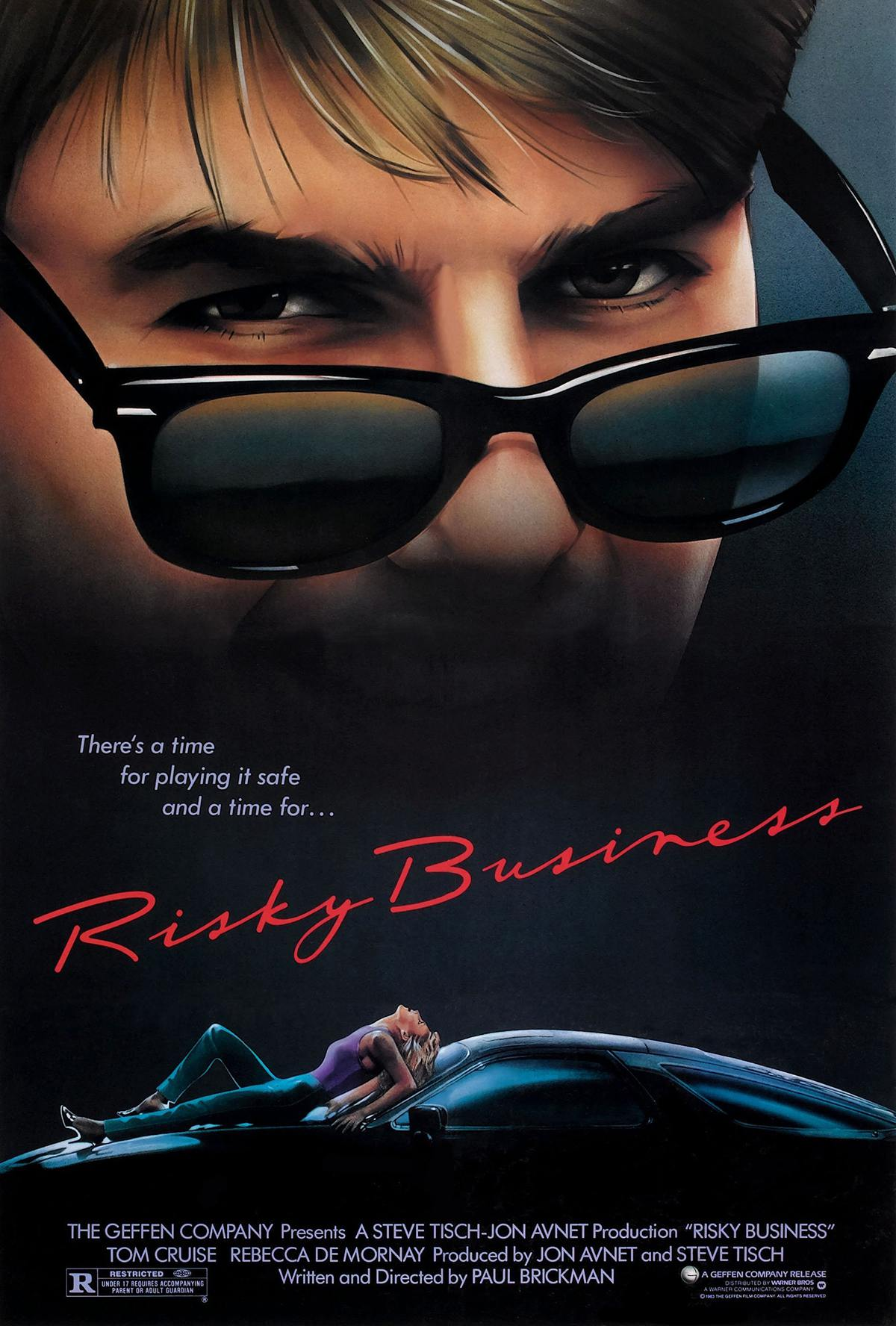 risky business 1983 news clips quotes trivia easter