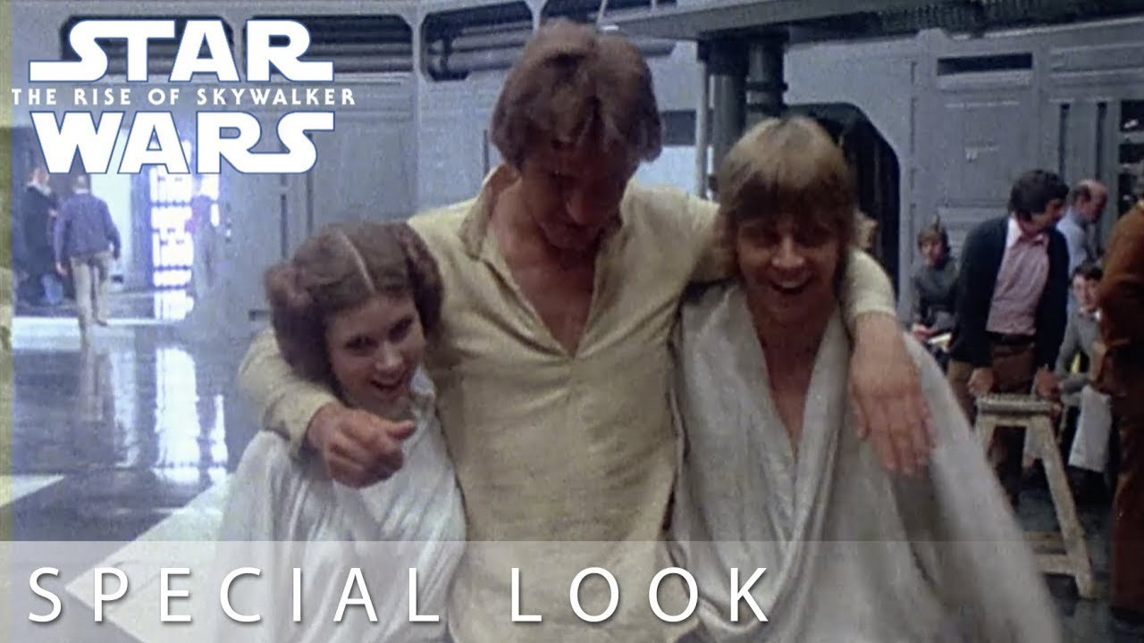 Star Wars: The Rise of Skywalker Special Look At The Star