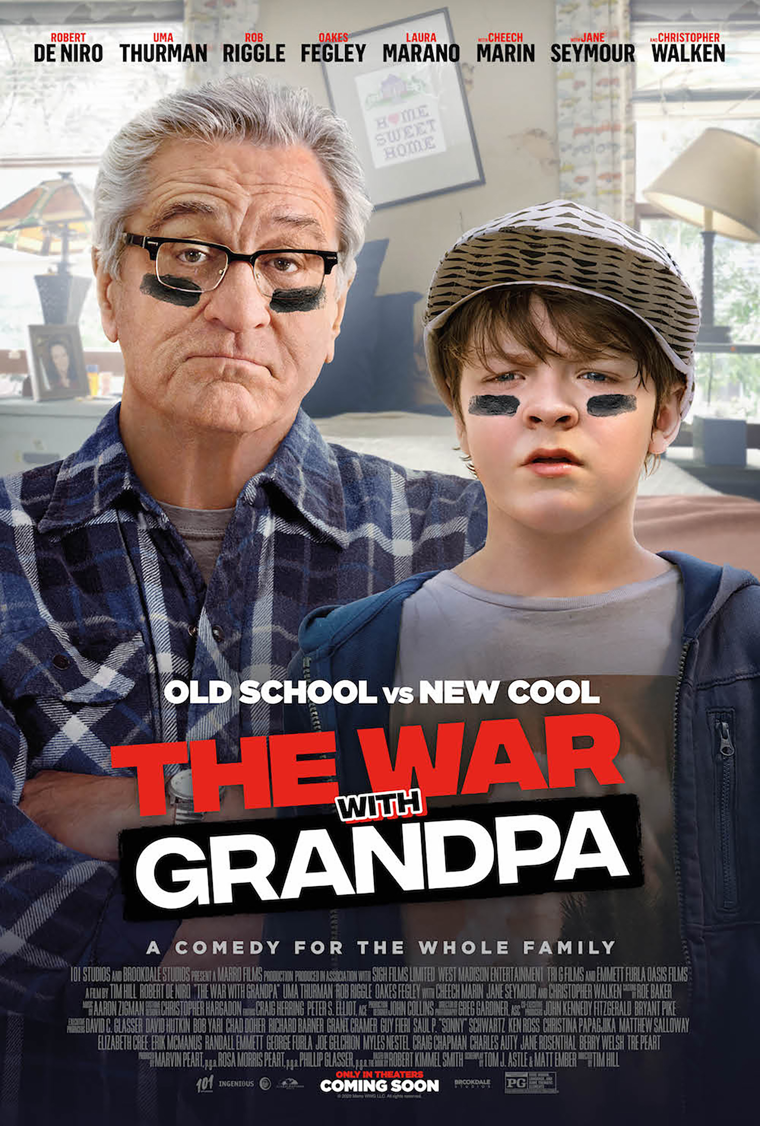 The War With Grandpa Theatrical Review, The War With ...
