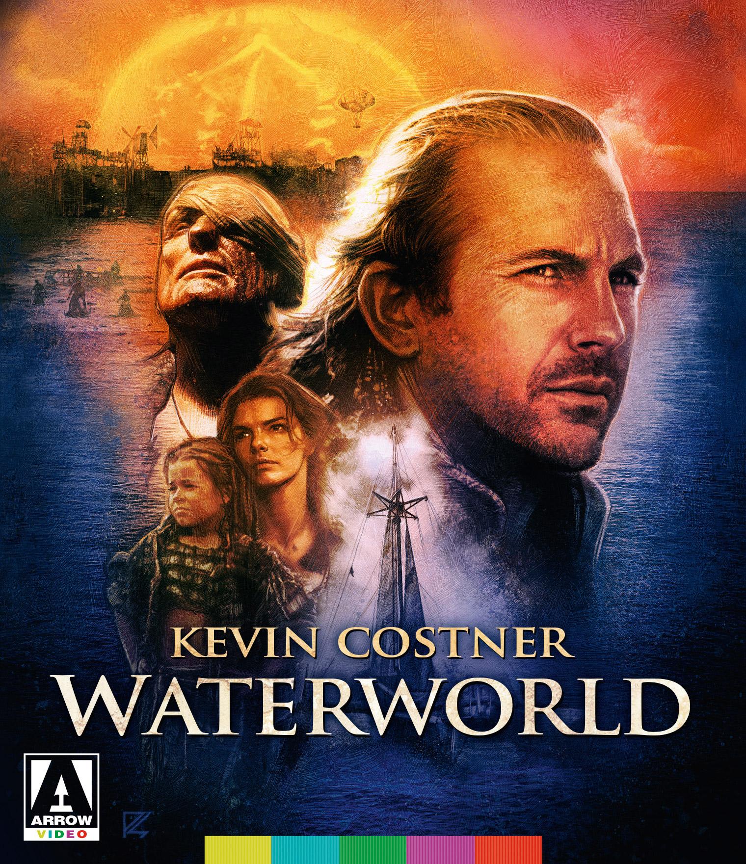 1995 Movie Advertising Button WATERWORLD