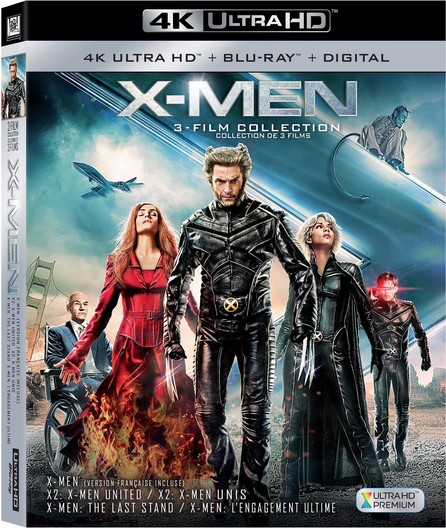 X Men Trilogy Box Set 4k Ultra Hd Review X Men 2000 Flickdirect